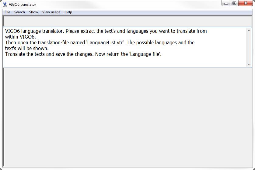 VIGO 6 translator tutorial • VIGO6